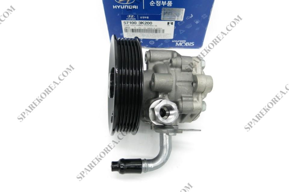 Hyundai   NF Sonata Power Steering Oil Pump Genuine 57100-3K200
